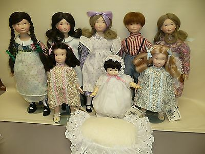 Suzanne Gibon's Calico Kids Complete Set of 8 Mint w/Boxes & Tags 1976-78