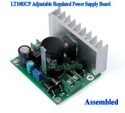 AC-DC LT1083CP 7A Adjustable Buck Regulated Power Supply Board Voltage Regulator