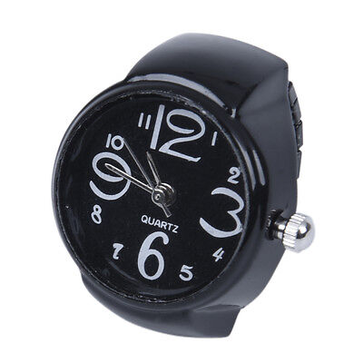 "Arabic Number Quartz Men Pocket Finger Ring Watch 0.87"" HOT DT"