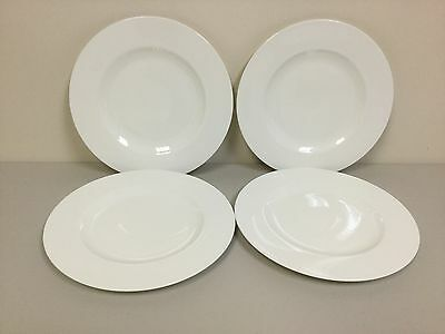 NWT Set of FOUR (4) Villeroy & Boch ROYAL Dinner Plates - BRAND NEW - FREE SHIP