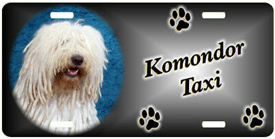 Komondor Taxi Line License Plate  ((SPECIAL LOW CLEARANCE PRICE ))