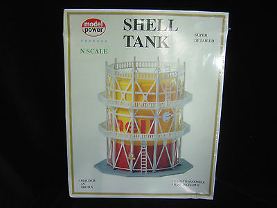 NEW N scale Model Power Shell tank   Kit  # 1567