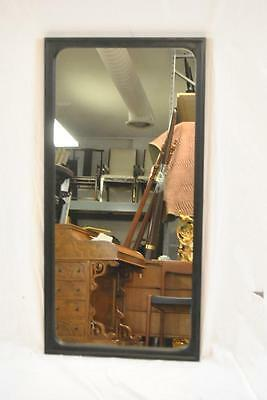 Mid Century Modern Black Oak Mirror