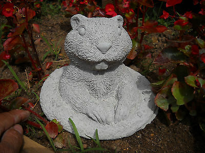 Gopher Groundhog CEMENT/CONCRETE GARDEN STATUE by Northebys