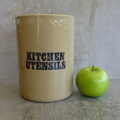 Vintage Pearsons of Chesterfield Kitchen Utensils Holder English Stoneware