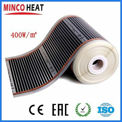 Minco 400W/M2 Wall Underfloor Infrared Electric Carbon Heating Film