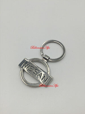 Nissan Keyring Stainless Branded 3D Car Logo Fob Key Ring Keyrings Key Chain