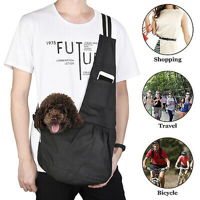 Pet Sling Carrier Bag Tote Shoulder Dog Puppy Purse Pouch Travel 3 Size New