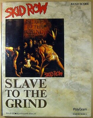 Skid Row Slave To The Grind Japan Band Score Guitar Tab