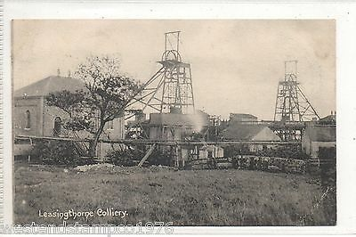 Durham Ppc Leasingthorne Colliery. M.gibson & Son. Unposted
