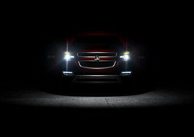 """2012 HOLDEN COLORADO NEW A1 CANVAS GICLEE ART PRINT POSTER FRAMED 33.1""""x23.4"""""""