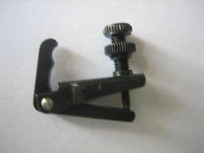 Fine Tuner [Wittner] String adjuster ~ Black ~  for 1/2 size Violin. Clearance!