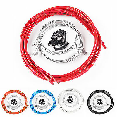 Complete set Brake+Gear Front Rear inner outer bike cables Bicycle cable UK