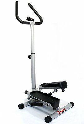 Twist Stepper Handle Bar Exercise Monitor Adjustable Gym Machine Tone Climber