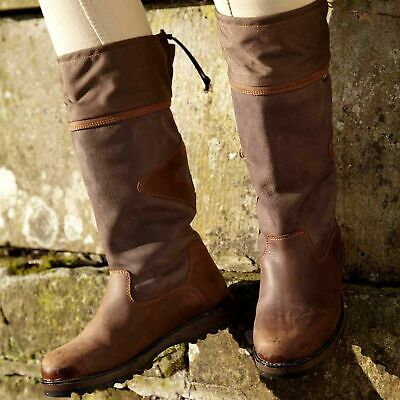 Toggi Columbus Calf Length Country Boots - Ladies / Mens - All Sizes Available