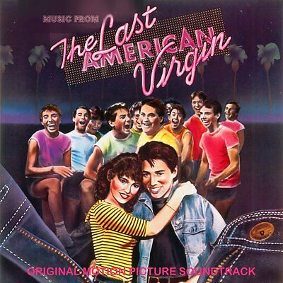 The Last American Virgin Motion Picture Soundtrack (1982, CD) 80's Movie Hits!!!