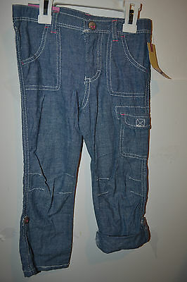 e21c8c107 NEW CHEROKEE TODDLER Girl Knit Pants Blue Size 4T - $9.95   PicClick