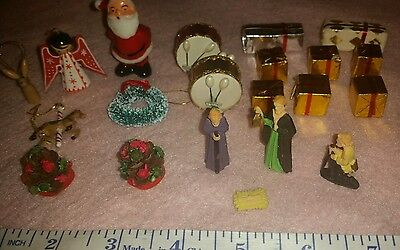 CUTE Miscellaneous CHRISTMAS and NATIVITY Dollhouse items