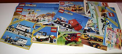Lego System, City 27x BA, Bauanleitung, only Instructions Manuel,ohne Steine