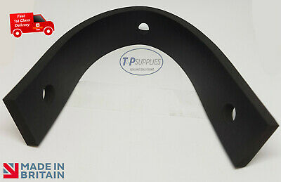 "UNIVERSAL Exhaust Mount Rubber Strap! Full Length 10"" classic car strip, 3 Holes"