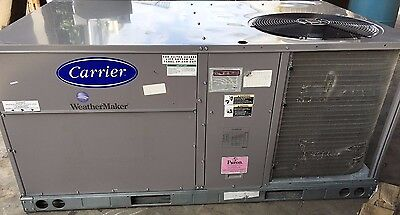 Carrier 48TCDA04A2A3 1 Phase 3 Ton 208/230V Weathermaker Rooftop Airconditioner