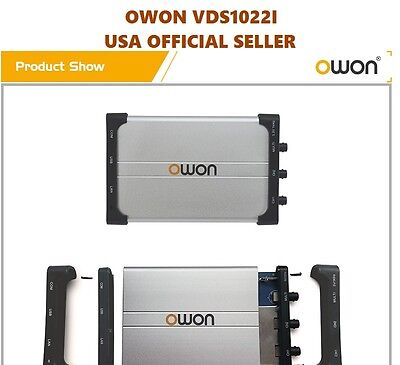 OWON VDS1022I USB Isolation PC Digital Storage Oscilloscope 25MHz 2+1 Ch 100MS/S