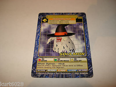 Bandai Digimon Card St-77 Soulmon-Free Combined Shipping-Good Condition