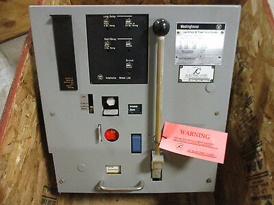 Westinghouse DS-206, 600 Amp Air Breaker w/ Amptector LSG Trip Unit- AB102