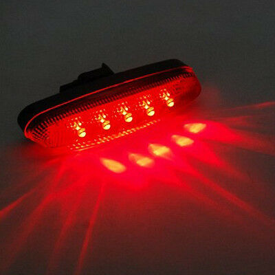 Ultra Bright Waterproof 5 LED Biking Bike Bicycle Cycling Rear Back Lamp Light