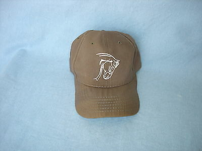 "HARTLAND Horses"" Quarter Horse"" Brown 2-sided Embroidered Ball Cap"