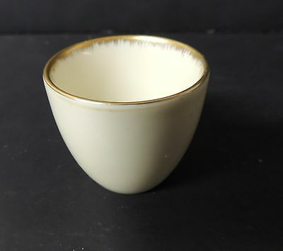 Antique Heinrich H & C Flammgold Egg Cup Selb Bavaria Very Rare
