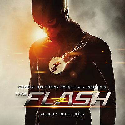 THE FLASH TV Series SEASON 2 Blake Neely TWO La-La Land CD SOUNDTRACK Score NEW!