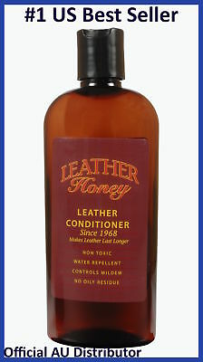 Leather Honey Leather Conditioner 240ml 8oz UNIVERSAL Shoes Car Furniture Bags