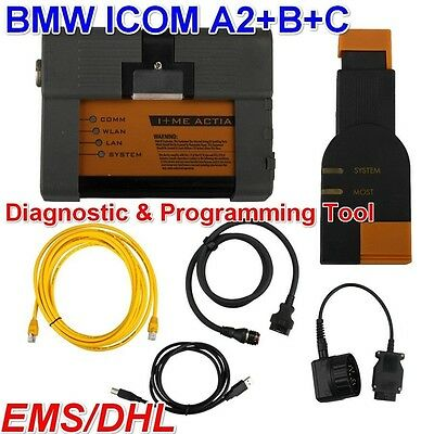 BMW ICOM A2+B+C OBD OBD2 Diagnostic & Programming Tool without Software for BMW
