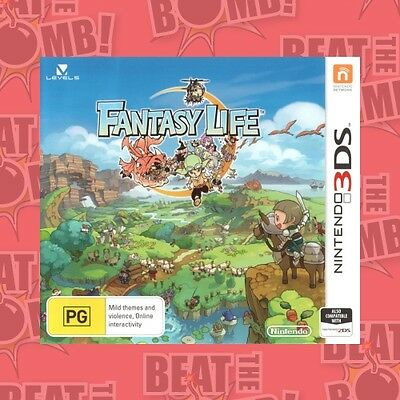 Fantasy Life  - 3DS game - BRAND NEW