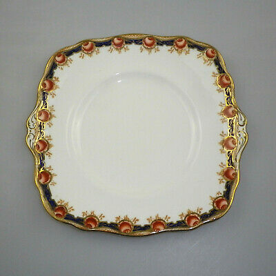 Antique Paragon Star China Cake Plate -  Pattern 3981