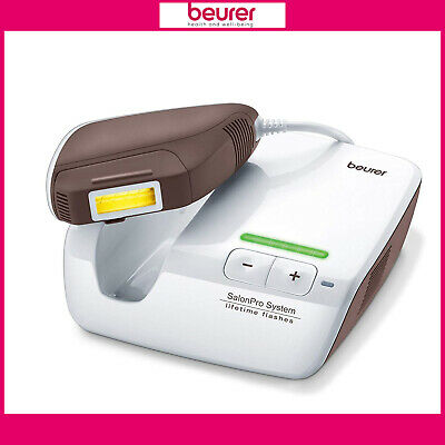 Beurer IPL 10000+ SalonPro Lifetime Flashes Hair Removal System For Face & Body