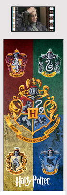Harry Potter : HOUSE CRESTS Film Cell Bookmark from Trendsetters
