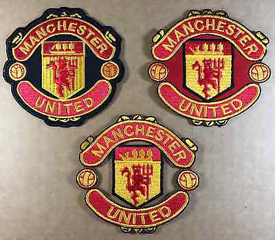 MANCHESTER UNITED MUFC MAN U Embroidered Sew On iron on patch No-57