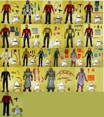 Star Trek Playmates Generations - Action Figuren zum aussuchen