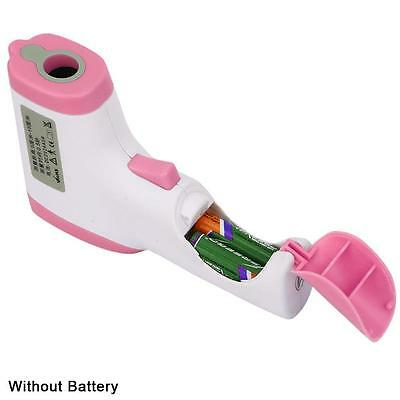 Useful Non-contact Infrared Digital Clinical Thermometer Temperature Gun Pink AC