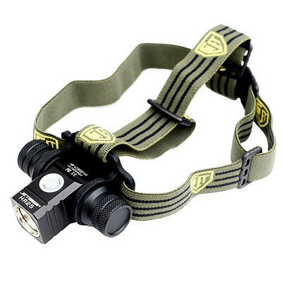 JETbeam HR25 Cree XM-L2 800lumens Rechargeable LED Headlamp with 18650 battery