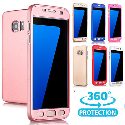 Samsung Galaxy S8/7 Note 8 CASE Ultra Thin Full-body Protective Shockproof Cover