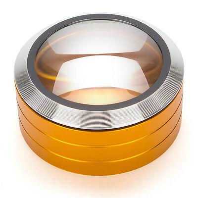 NEW TechniCOOL Gold Paperweight Magnifier