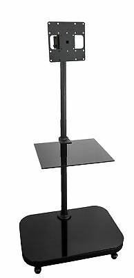 "FS940  TV Trolley Floor Stand w/ Universal Vesa Mounting Bracket for 19-37"" LCD"