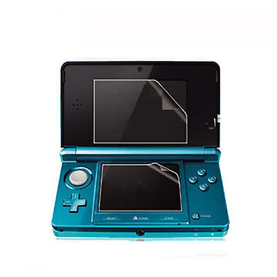New Clear Top +Bottom LCD Screen Protector Cover Guard Film For Nintendo 3DS XL