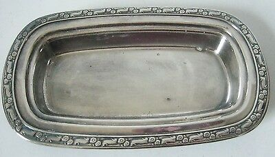 Oneida Silversmiths Silverplate Butter Dish