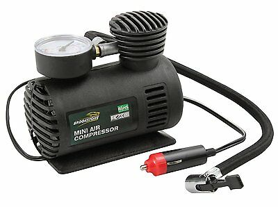 Mini Air Compressor 12V Electric Cigarette Lighter socket Pump Tyre Nozzle