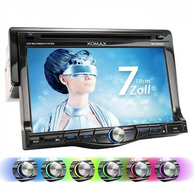 Autoradio Con Display Touchscreen Bluetooth Sd Usb Lettore Dvd/cd Singolo 1Din