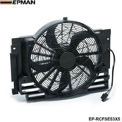 EPMAN - AC Condenser Cooling Fan 5 Blade FOR BMW X5 E53 2000-2006